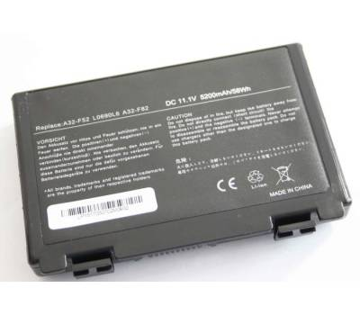 Аккумуляторная батарея для ноутбука Asus (A32-F82) 5200 mAh