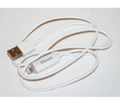 iPhone 5 дата кабель с подсветкой