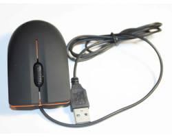 Мышка USB Lenovo черная