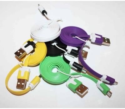 USB-micro дата кабель (цветной)
